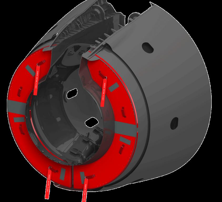 Thrust Reverser Cover